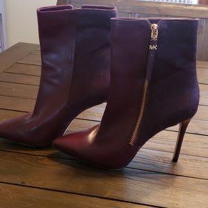 Michael Kors fur trimmed boots